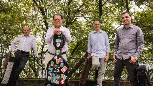 Quarteto Carlos Gomes, quarteto de cordas