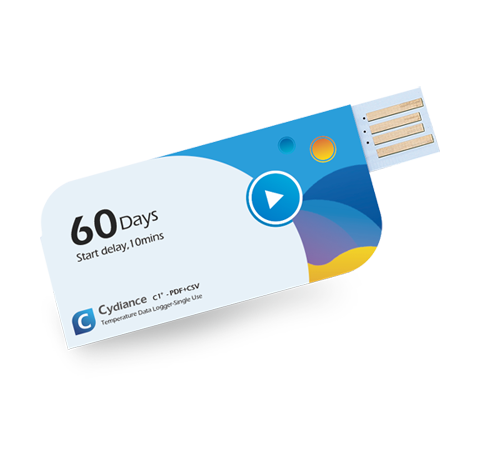 Cydiance C1 USB Temperature Data Logger