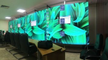 video wall for control room
