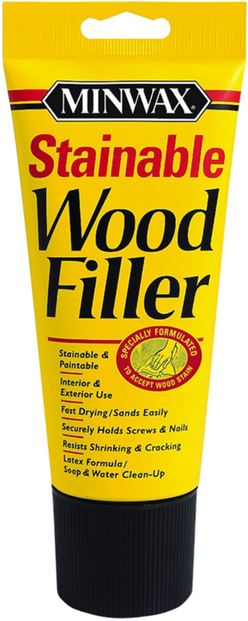 Minwax 42852 Stainable Wood Filler, 6 oz Tube