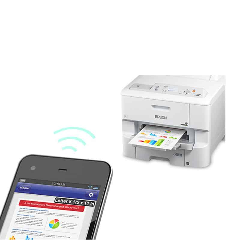 Impressora Jato de Tinta Color A4 EPSON WF-6090