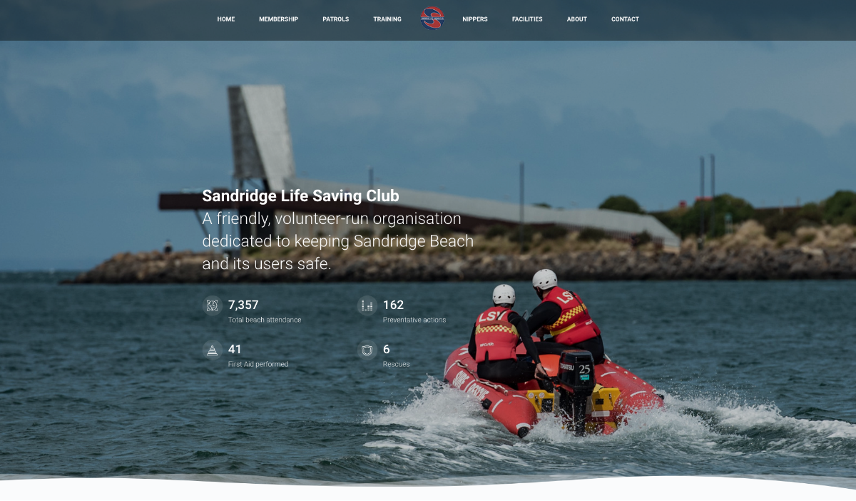 Sandridge Life Saving Club - Home Page