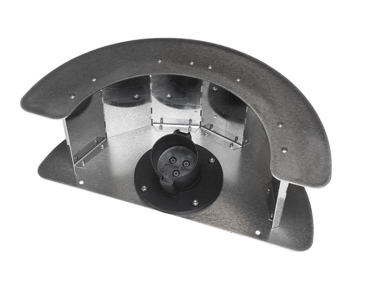 Accesorio Ratio Enrollador manguera con soporte Tipo2