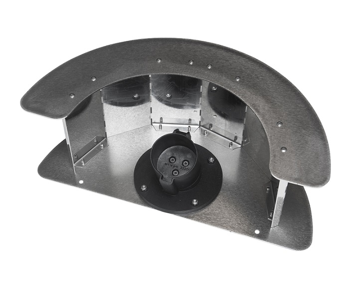 Accesorio Ratio Enrollador manguera con soporte Tipo1