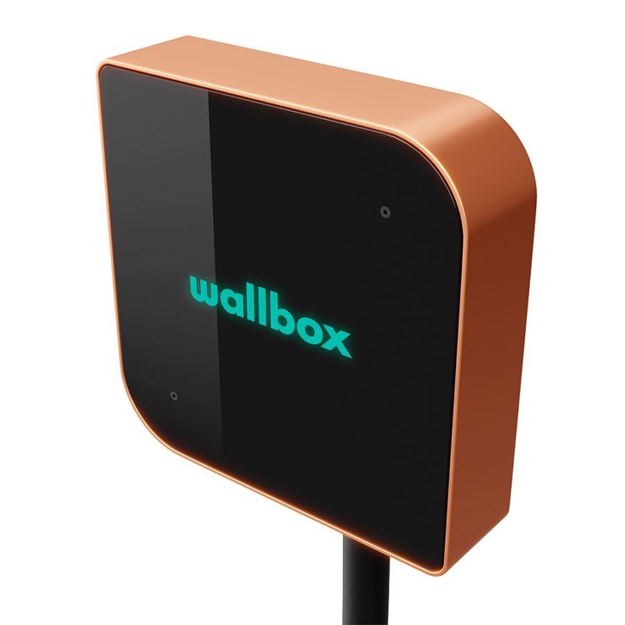 Cargador WallBox Copper Type 2 7.4kW Cobre