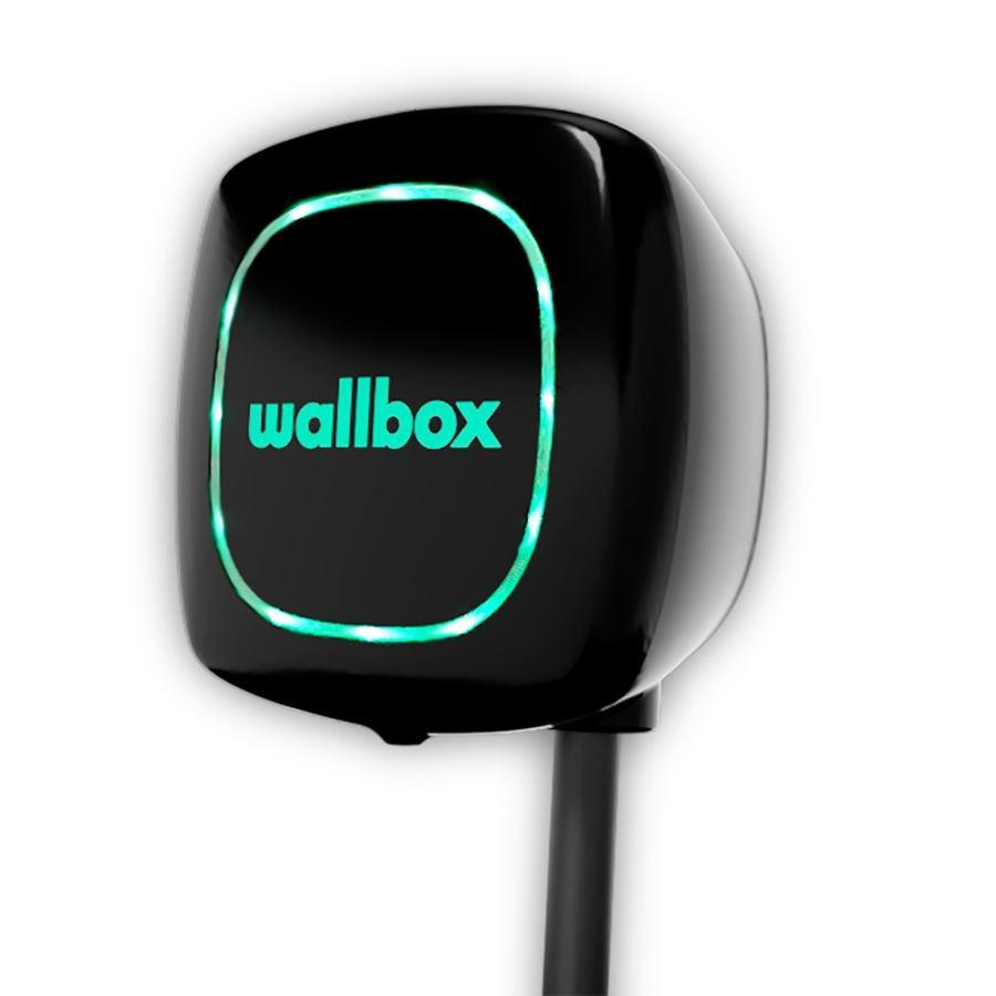 Cargador WallBox Pulsar Type 2 7.4kW Negro