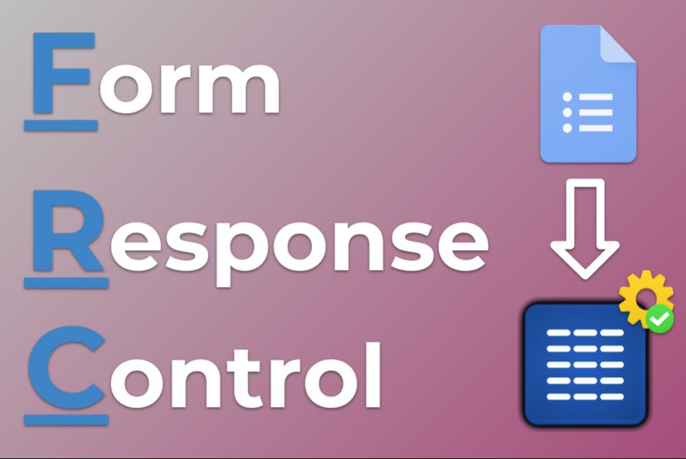 Miniatura Form Response Control