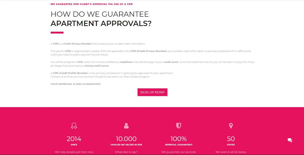 CPN Approval Guarantee